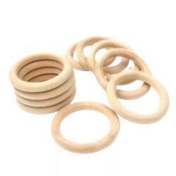 Кольцо деревянное для погремушек 7см