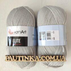 Пряжа Ярнарт Элит - YarnArt Elite 855 серый