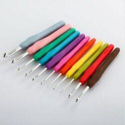 Крючок с силиконовой ручкой - №3,5
