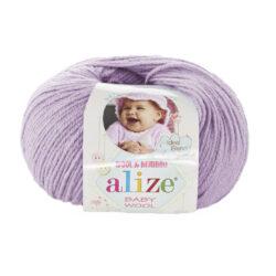 Alize Baby wool (Беби вул Ализе) 146 фиолет