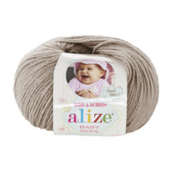 Alize Baby wool (Беби вул Ализе) 167 бежевый
