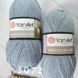 Merino de Luxe 50 - 3072 серо-голубой