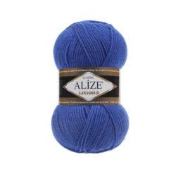 Лана голд (Alize Lana Gold) 141 синий