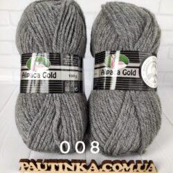 Alpaca Gold MT - 008 - темно-серый