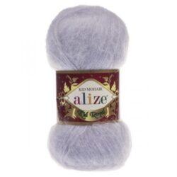 Пряжа Kid Royal Alize -224 серо-голубой