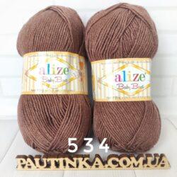 Baby Best (Беби бест) антипиллинг акрил - 534 коричневый