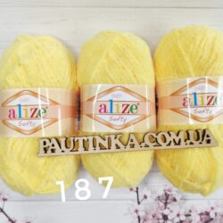 Плюшевая пряжа Softy Alize (Софти Ализе) 187
