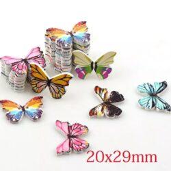 Бабочки набор 5шт пришивные