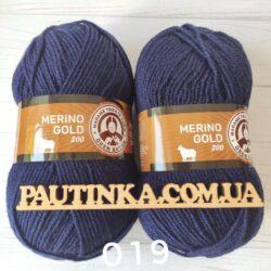 TRICOTE MERINO GOLD 200 - 19 темно синий