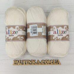 Bella Alize (Белла) - 62 молочный - хлопковая пряжа