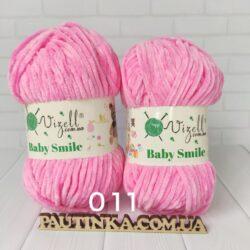 Baby Smile Vizell - 11 розовый- плюшевая пряжа