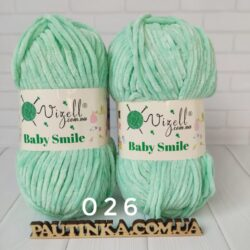 Baby Smile Vizell - 26 мятный - плюшевая пряжа